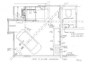 ontwerp badkamer renovatie
